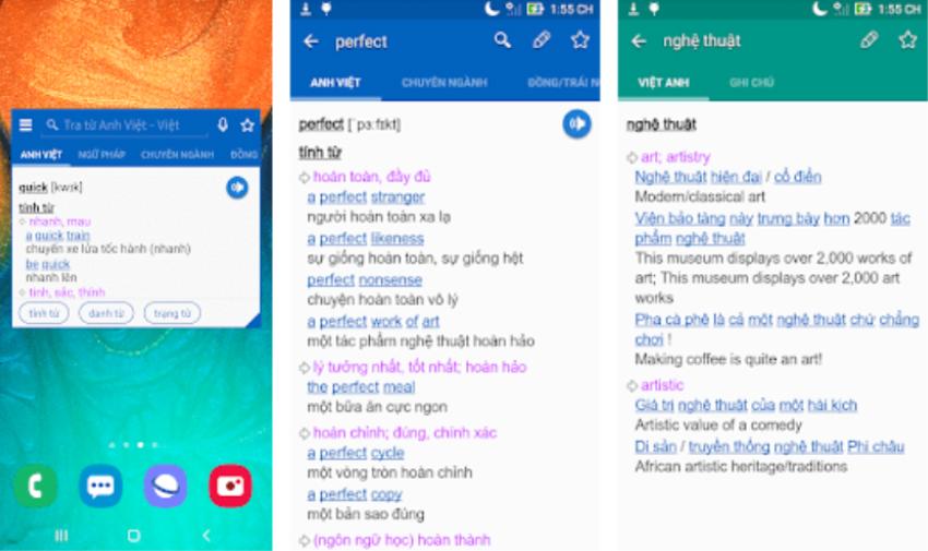 Tflat-phần mềm từ điển nổi tiếng made in vietnam