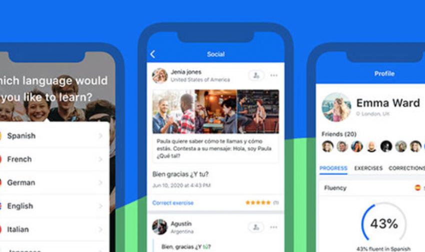 Busuu-ứng dụng mạng xã hội học tiếng anh