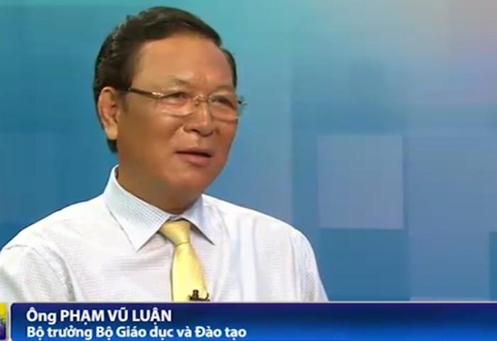 Bộ trưởng Giáo dục nói về tâm thư của học trò gửi tới Phó thủ tướng