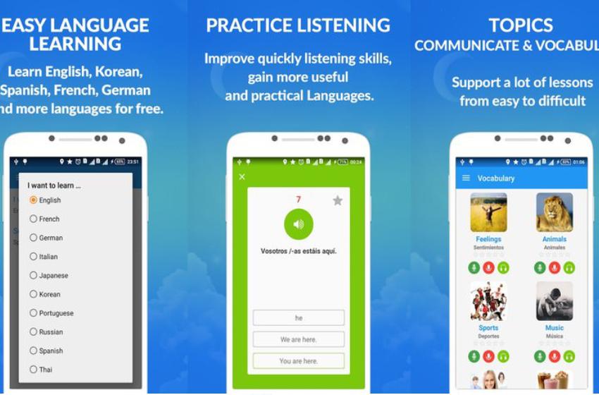 awabe - ứng dụng học tiếng anh hỗ trợ ngoại tuyến